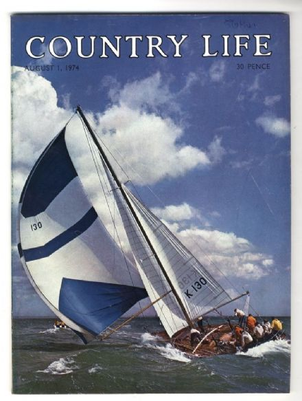 1974 COUNTRY LIFE MAGAZINE 1 August Cazenove WOODHALL DRAYTON HALL Charleston